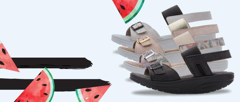 Vara reducerilor! Sandale pentru femei Walkmaxx Pure - acum cu -50% REDUCERE!