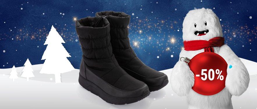 NOU - Cizme de iarna pentru barbat Walkmaxx Comfort acum cu -50% REDUCERE!