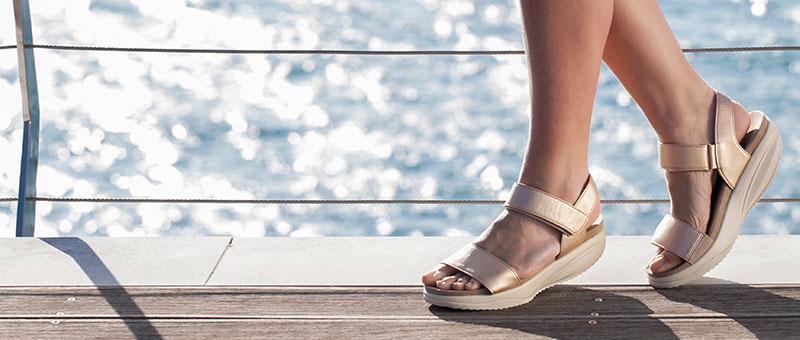NOU - Sandale pentru femei Pure