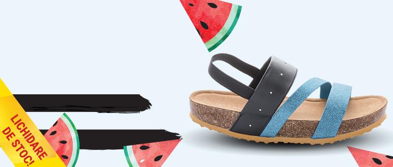 Sandale cu talpa de pluta Trend